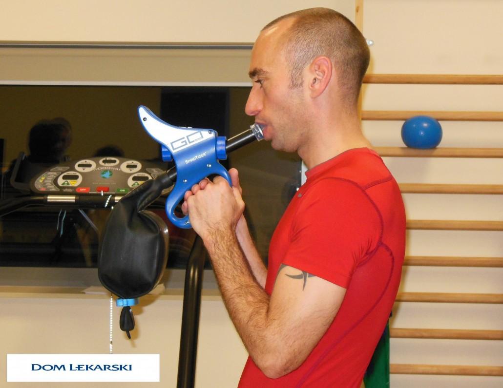 trening oddechowy Ława
