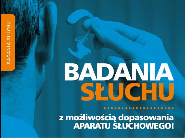 badania słuchu-plakat