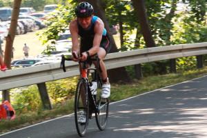 dr Tomasz Miszczuk - jazda na rowerze